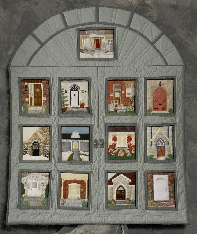Kingston heirloom quilters for Front door quilt pattern